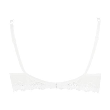 LISE CHARMEL Soutien-gorge armatures Ajourage Pétales Blanc