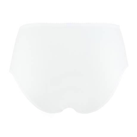 Culotte haute Précieux Pétales Blanc