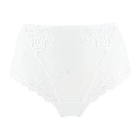 EPRISE DE LISE CHARMEL Culotte haute Précieux Pétales Blanc