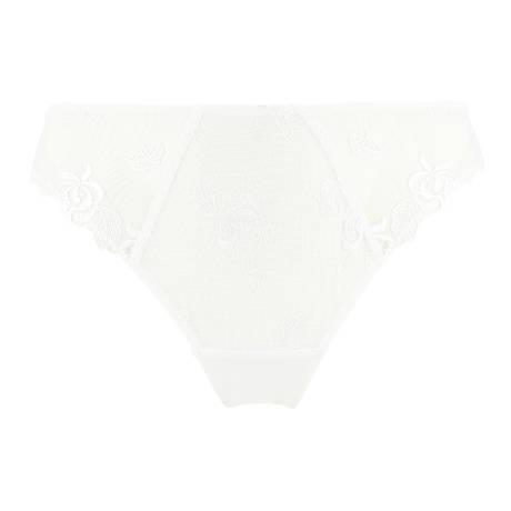 Slip fantaisie Précieux Pétales Blanc
