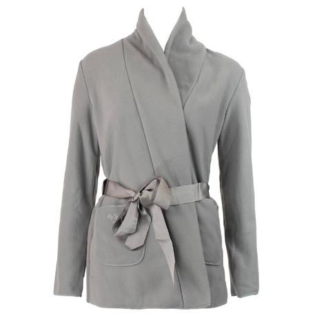 ANTIGEL Robe de chambre courte polaire Simply Perfect Gris Polaire