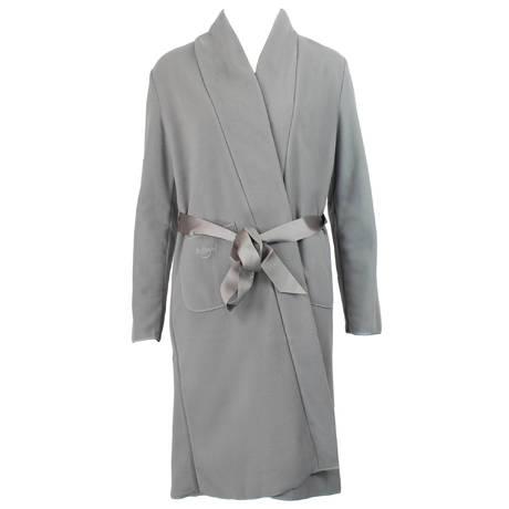 ANTIGEL Robe de chambre polaire Simply Perfect Gris Polaire
