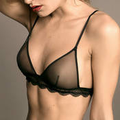 Soutien-gorge triangle Maison Close La Directrice