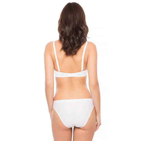 IMPLICITE Soutien-gorge push-up Fiction Blanc