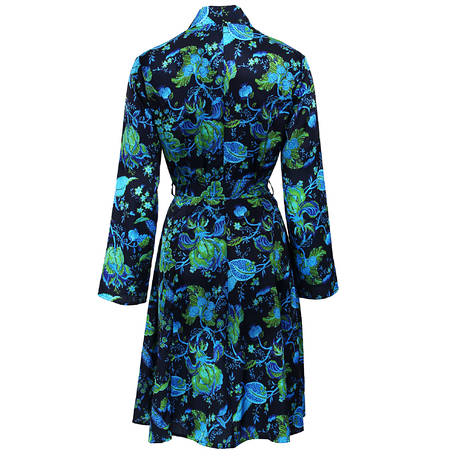 LISE CHARMEL Déshabillé Secret Turquoise Turquoise Marine