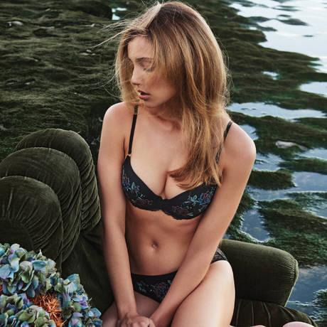 MARIE JO Soutien-gorge push-up Dahlia Noir