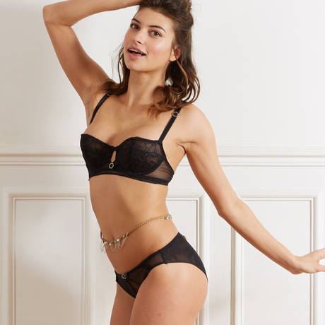 BARBARA Slip Beauté Sauvage Noir