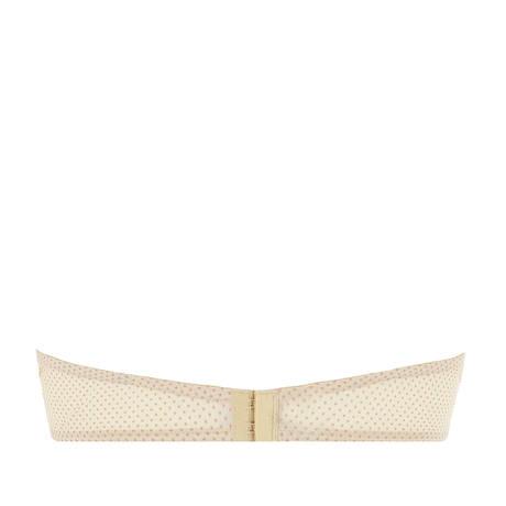 ANTIGEL Soutien-gorge bandeau coques Drapé Délice Pois Blush