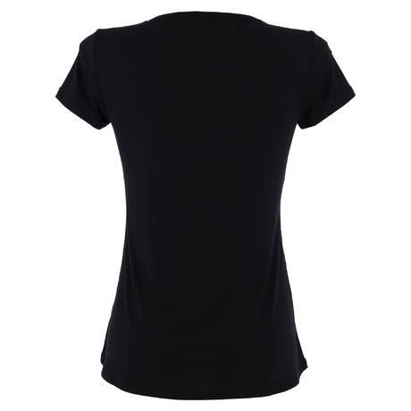 ANTIGEL T-shirt manches courtes Tressage Graphic Tressage Noir