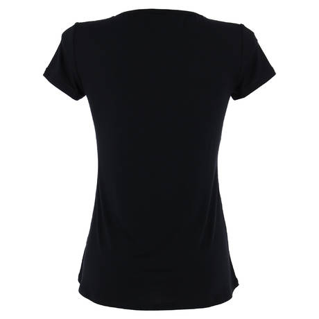 ANTIGEL T-shirt manches courtes Tressage Graphic Tressage Noir