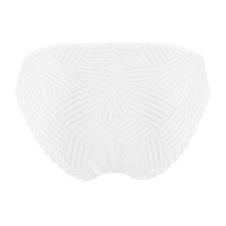 Slip charme Tressage Graphic Tressage Blanc