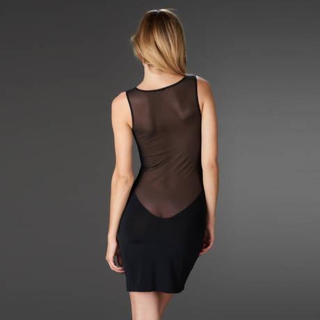 MAISON CLOSE Robe Pure Tentation Noir