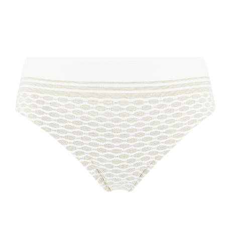 Maillot de bain culotte haute Salsa White Yacht