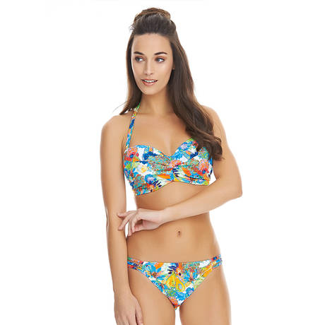 Maillot de bain bandeau Island Girl Tropical