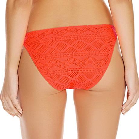 Maillot de bain slip lacets Sundance Orange Fizz