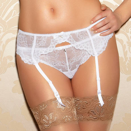 Porte-jarretelles Superboost Lace Blanc