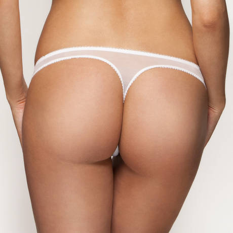 String Superboost Lace Blanc