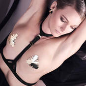 Harnais lingerie Bordelle Art Deco