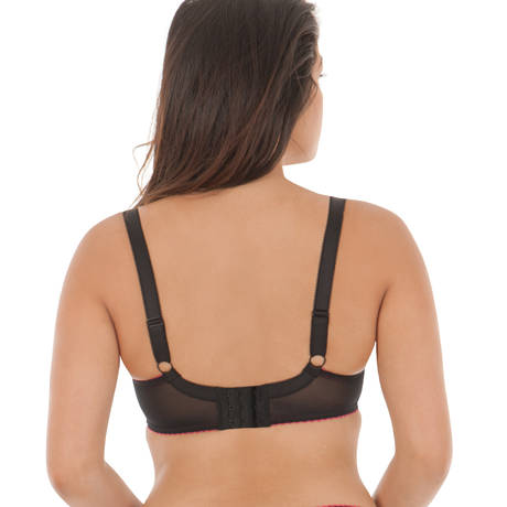 CURVY KATE Soutien-gorge armatures Sheer Bliss Mulberry Print