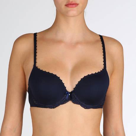 MARIE JO Soutien-gorge rembourré forme coeur Pearl Velvet Blue
