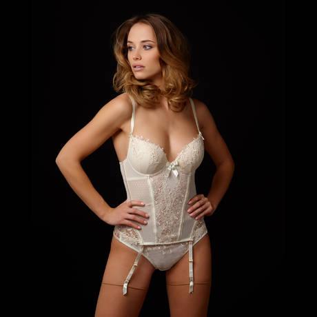 MILLESIA Guêpière Désir Nude