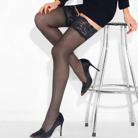 Bas autofixant Perfect Chic 20D Couture Noir