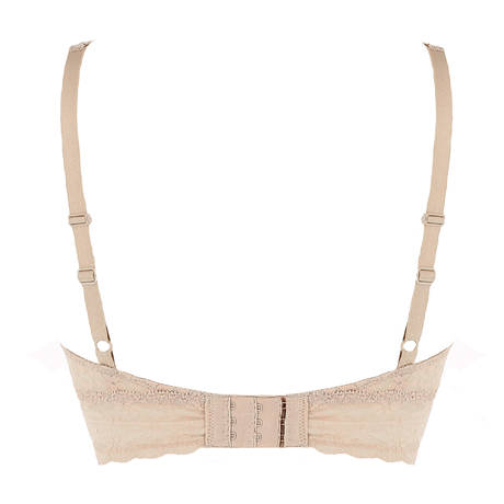 WACOAL Soutien-gorge sans armatures Halo Lace Naturally Nude