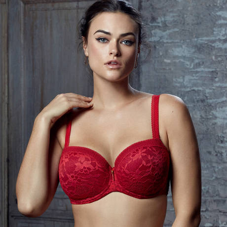 Soutien-gorge balconnet rembourré Tough Girl Rising Sun