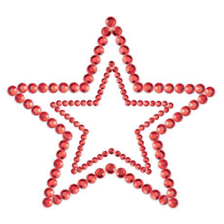 BIJOUX INDISCRETS Mimi Star Rouge