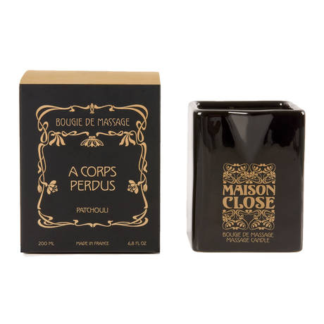 MAISON CLOSE Bougie Massage Patchouli