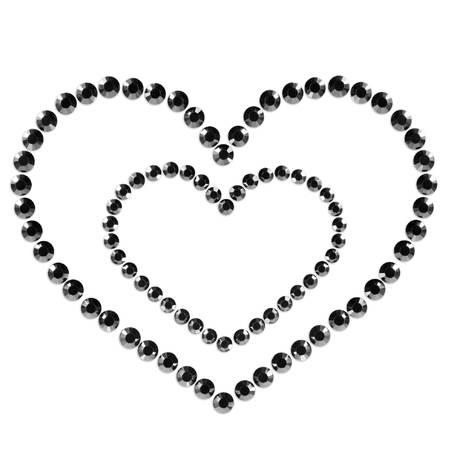 BIJOUX INDISCRETS Mimi Heart Noir