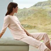 Pyjama en coton Hanro Valencia
