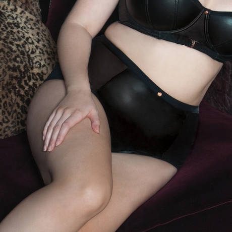 SCANTILLY Culotte haute Unleash Noir