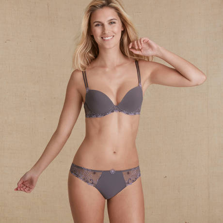 SIMONE PÉRÈLE Soutien-gorge push-up t-back Délice Shadow