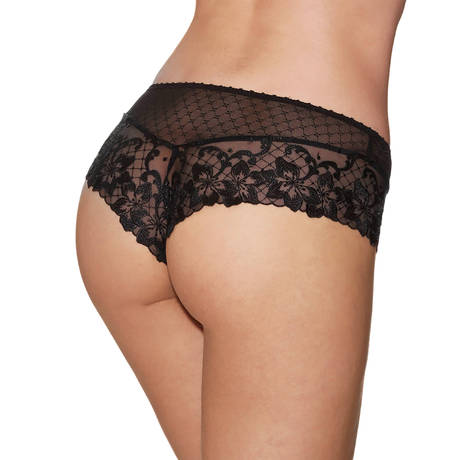 AUBADE Shorty Saint-Tropez Wandering Love Noir