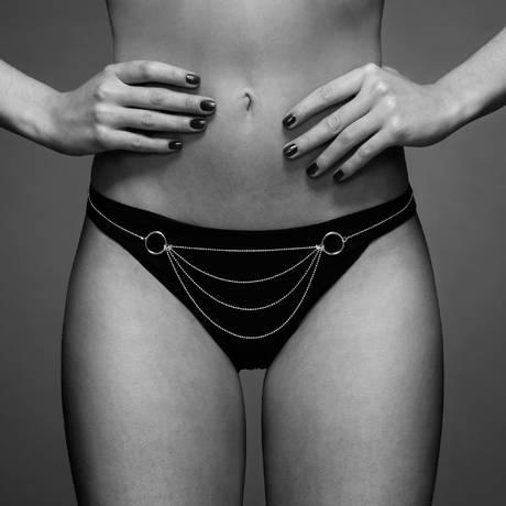 BIJOUX INDISCRETS Chaînes de bikini Argent Argent