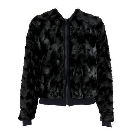 ANTIGEL Veste teddy Fashion Douceur Noir
