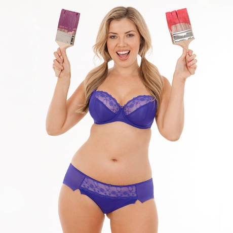CURVY KATE Shorty Florence Iris