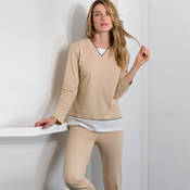 Pyjama en coton Canat Chamade4