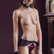 Harnais lingerie Les Jupons de Tess Tentation