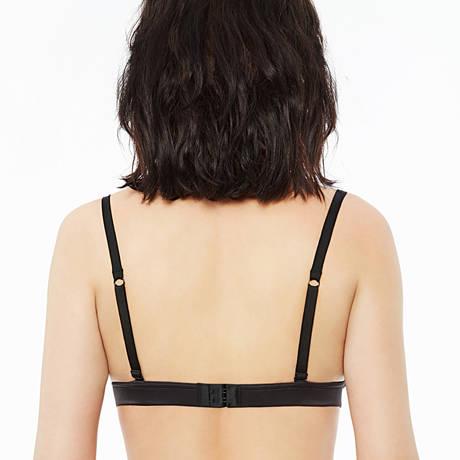 Soutien-gorge triangle sans armatures Belle d'Époque Noir
