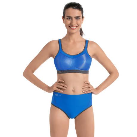 ANITA Culotte haute de sport Bleu