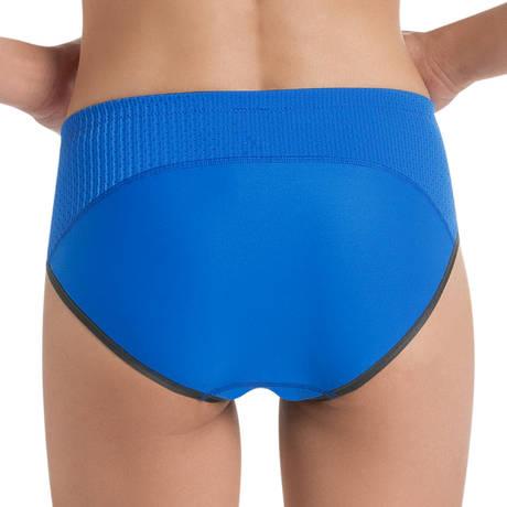 Culotte haute de sport Bleu