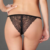 Tanga ouvrable Maison Close Le Petit Secret Dentelle
