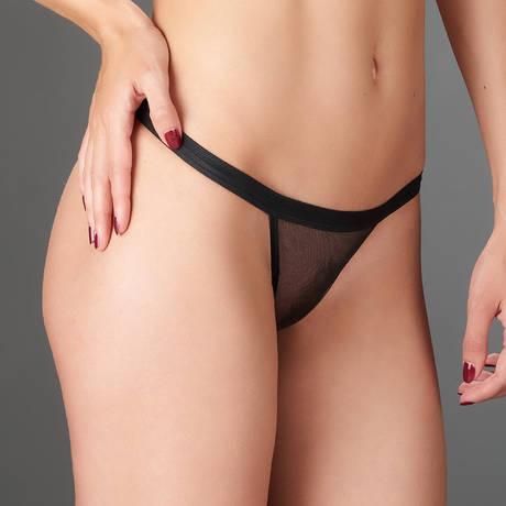 MAISON CLOSE Mini string Liaison Fatale Noir