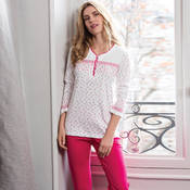 Pyjama en coton Canat Mia4