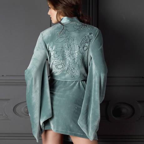 MARJOLAINE Peignoir lingerie Métal