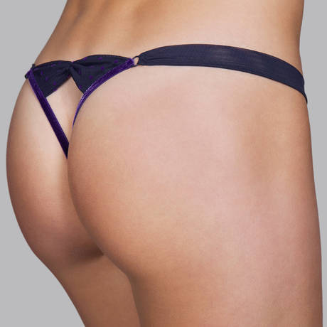 ANDRES SARDA String luxueux Saturn Majestic Blue