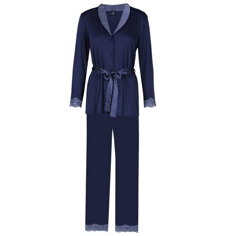 LINGERIE LE CHAT Pyjama Happy Encre