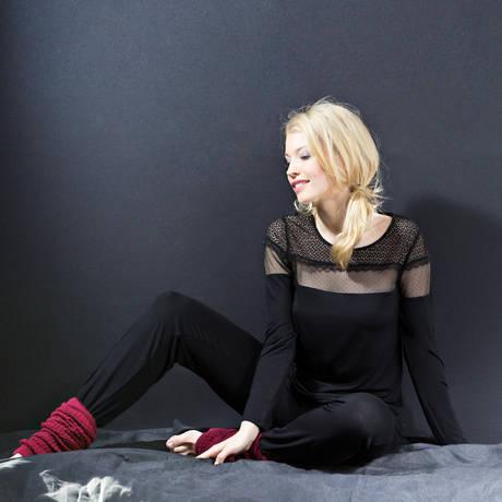 TECCIA Pyjama Ziggy4 Noir